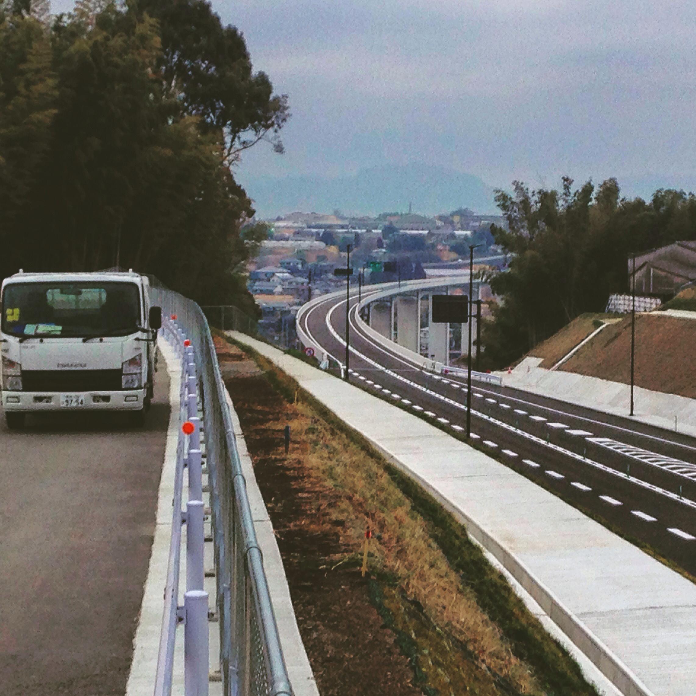バイク買取みのまるバイク近くの熊本西環状線