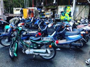 買取バイク・スクーター海外へ輸出作業を♪