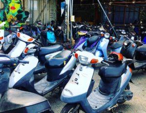 バイク買取 スクーター買取 熊本市 スクーター無料処分